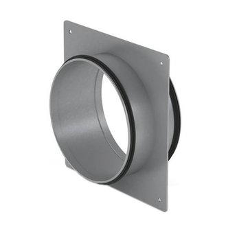 Afzuigkap Muurdoorvoer/flens Compair Steel flow