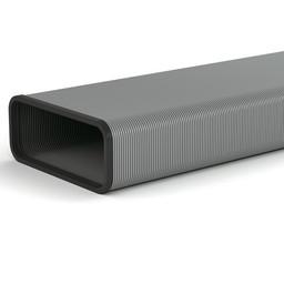 Naber Flexibele Platte buis afzuigkap Compair steel 1000