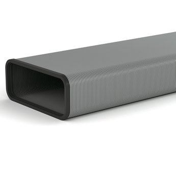 Naber Flexibele Platte buis afzuigkap SF-VRO flex 220mm x 90mm  Compair steel flow
