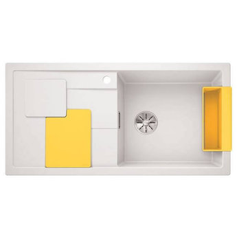 Blanco Spoelbak Blanco SITY XL 6 S - Wit- Lemon