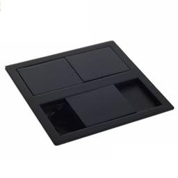 Stopcontact kookeiland Mat Zwart met USB aansluiting