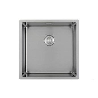 Caressi Wasbak keuken RVS Extra CAPP46D46R10