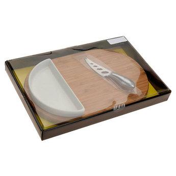 Kaasplank (30x19.5) met bakje en mes