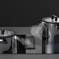 Downdraft kookpotten, speciaal ontworpen voor kookplaatafzuiging