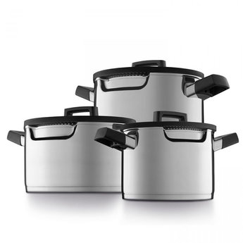 BergHOFF 6-delige kookpottenset downdraft - Gem   Kookplaatafzuiging