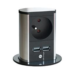 Elevator stopcontact - Met USB lader.
