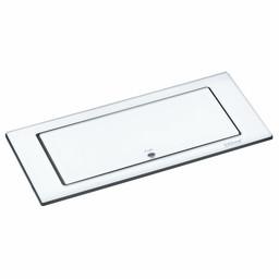 Evoline Evoline BackFlip Wit matglas 2Stopcontacten USB lader