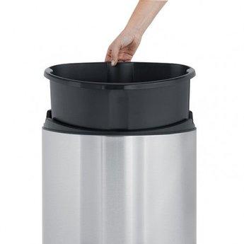 Brabantia Touch Bin® 40 liter afvalemmer.Matt Steel Fingerprint Proof