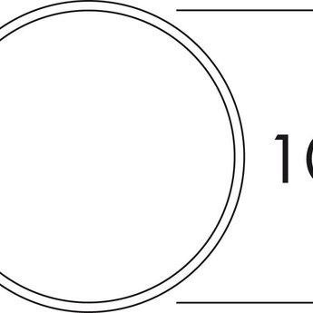 Naber K-Klima-R 100/100 muurdoorvoerunit