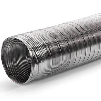 Naber A-PXO flexibele slang aluminium, rond, aluminium,