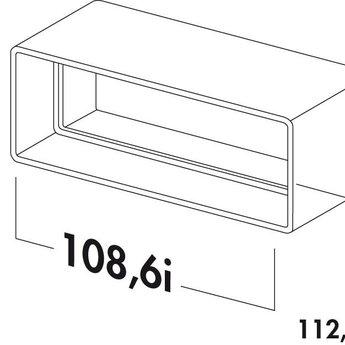 Naber N-RVB 100 Buisverbinding, wit