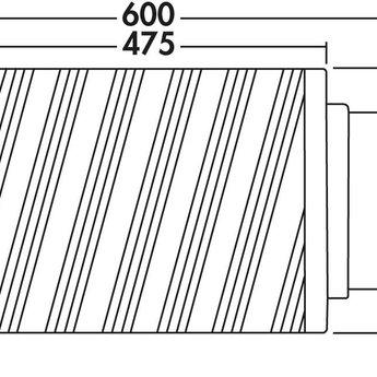Naber Luchtafvoer Compair Flow Geluiddemper 125 aluminium