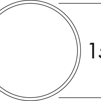 Naber E-Jal Blow Buitenjaloezie Ø150 RVS,