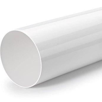 Naber Buis 150 ronde buis, los, 350 mm lang, wit