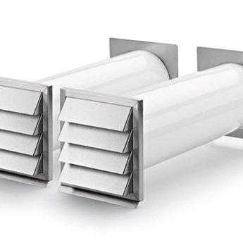 Naber E-Klima A/Z 150 luchtafvoer en luchttoevoer muurdoorvoer,