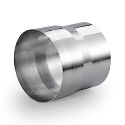 Naber Steekverbinding voor DN 125 Dakkap, aluminium