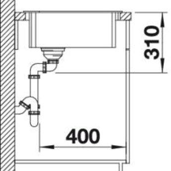 Keuken spoelbak ZIA 9E SGR Manueel of Automatisch openen