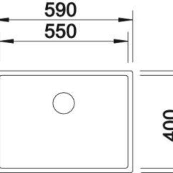 Blanco CLARON 550-IF manueel