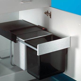 Naber Tandem 3. Afvalverzamelaars, grijs/zwart