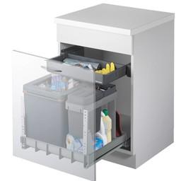 Naber Müllex Boxx 55 60. Afvalverzamelaars, antraciet