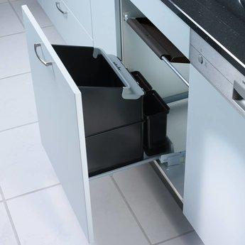 Naber Müllex Oekonom 35 2 2. Afvalverzamelaars, antraciet