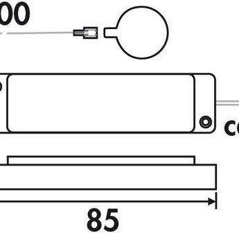 Naber LED Touch-schakelaar en dimmer