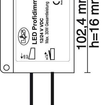 Naber Flip LED Uitbreidingsset, wit