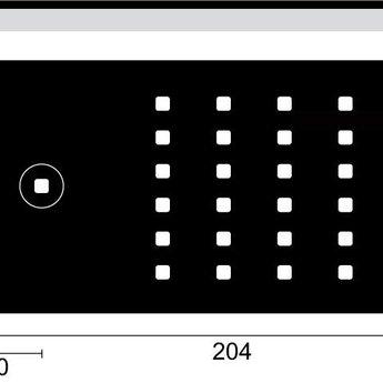 Naber Flip LED Set-2 met Touch LED schakelaar en dimmer