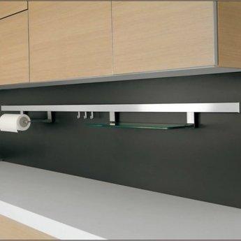 Naber Relingsysteem-Alto set,Roestvrij staalkleurig,