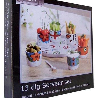 Serveerset (13 delig)