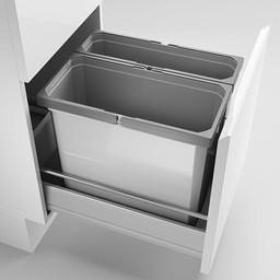 Keukenonderdelen Lade indeling Cox Box 360 S/400 lichtgrijs