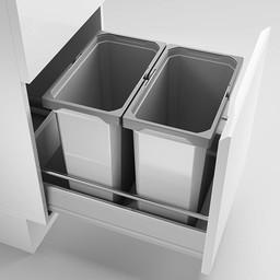 Naber Lade indeling - Cox Box 360 S/400-2, zonder biologisch deksel, lichtgrijs,