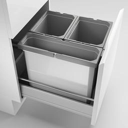 Naber Lade indeling - Cox Box 360 S/450-3. met biologisch deksel, lichtgrijs.
