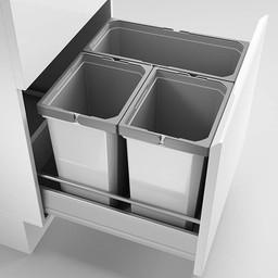 Naber Lade indeling - Cox - Box 360 S/500-3. met biologisch deksel, lichtgrijs.