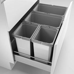 Naber Lade indeling - Cox - Box 350 S/800-4. zonder biologisch deksel, lichtgrijs.