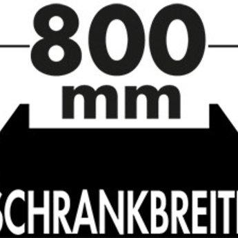 Naber Cox - Box 350 S/800-4. met biologisch deksel, lichtgrijs.