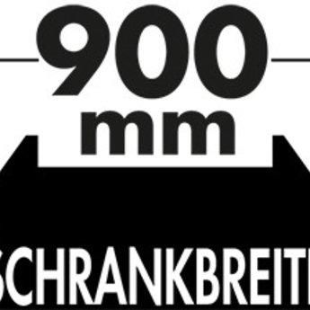 Naber Cox - Box 350 S/900-4. zonder biologisch deksel, lichtgrijs.