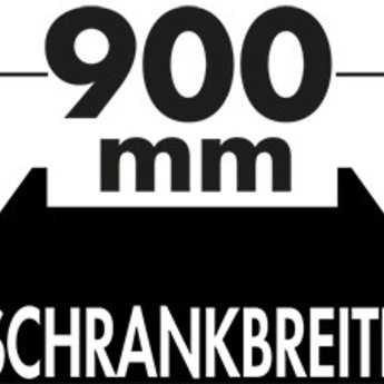 Naber Cox - Box 350 S/900-4. met biologisch deksel, lichtgrijs.