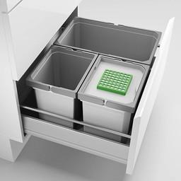 Naber Lade indeling - Cox - Box 235 S/600-3 Bio, lichtgrijs,