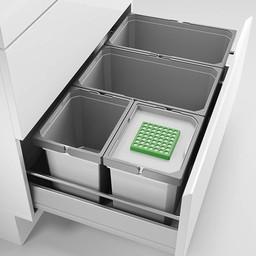 Naber Lade indeling - Cox - Box 235 S/800-4 Bio. lichtgrijs.