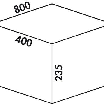 Naber Cox - Box 235 S/800-3. lichtgrijs.