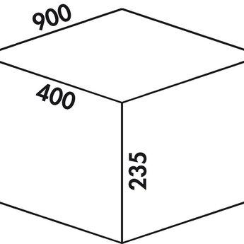 Naber Cox - Box 235 S/900-4 Bio. lichtgrijs.