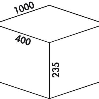 Naber Cox - Box 235 S/1000-4. lichtgrijs.