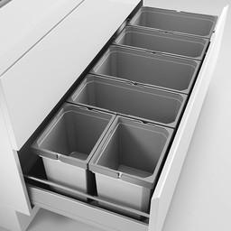 Naber Lade indeling - Cox - Box 235 S/1200-6. lichtgrijs.