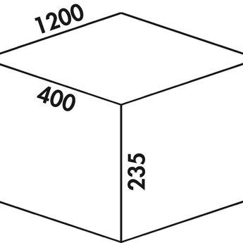 Naber Cox - Box 235 S/1200-6 Bio. lichtgrijs.