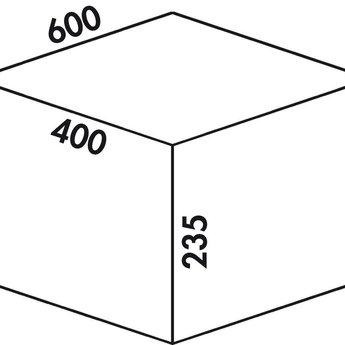 Naber Cox - Box 235 S/600-2 Bio, lichtgrijs,