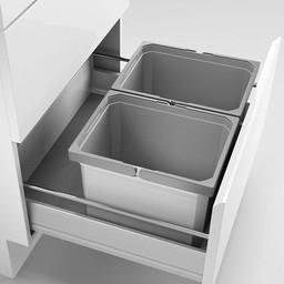 Naber Lade indeling - Cox - Box 235 K/600-2, zonder biologisch deksel, lichtgrijs,