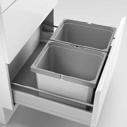 Naber Lade indeling - Cox - Box 235 K/600-2, met biologisch deksel, lichtgrijs,