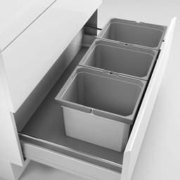 Naber Lade indeling - Cox - Box 235 K/900-3. met biologisch deksel, lichtgrijs.