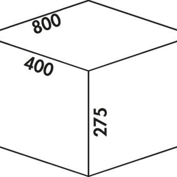 Naber Cox - Box 275 S/800-4 Bio. lichtgrijs.